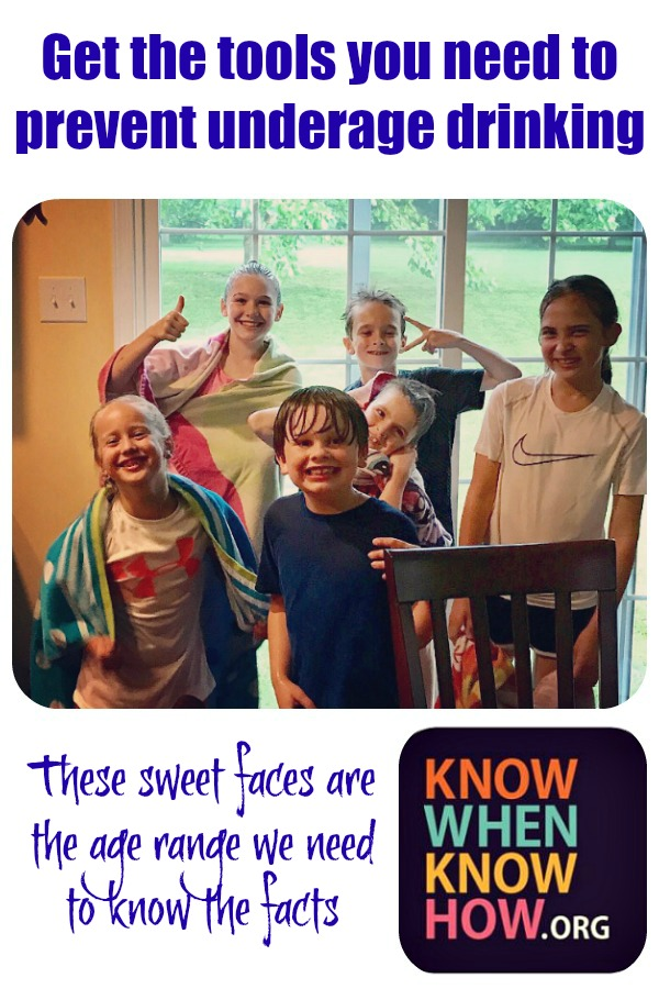 Prevent Underage Drinking.  Know When.  Know How.   In The Kitchen With KP   Parenting